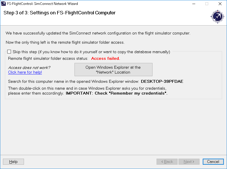 Simconnect network wizard fs flightcontrol manual settings on fs flightcontrol computer solutioingenieria